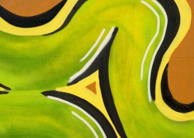 Abstract Snake Graffiti