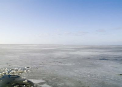 Ijs met wak - Ice with Ice Hole (Friesland)