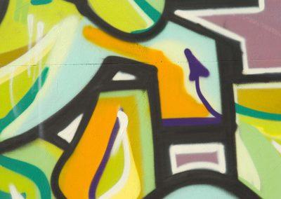 Multicolor Graffiti