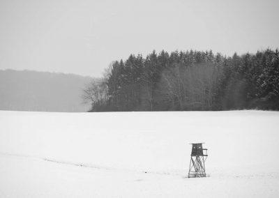 Uitkijktoren in sneeuw - Watch Tower in Snow